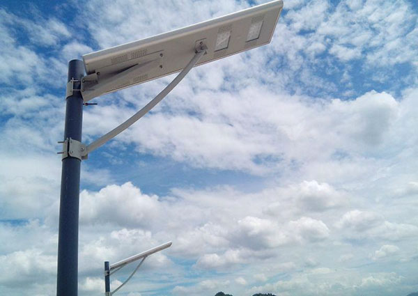 greenmax integrated solar street light in india